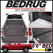 Bedrug Custom Fit Bed Liner Mat Fits 2007-2021 Toyota Tundra With 6.5 Ft. Bed