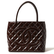 A01804 Reprint Tote Enamel Women And039s Patent Leather Bag B _2702