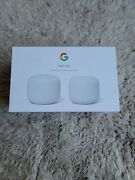 Google - Nest Wifi Ac2200 Mesh System Router And Point - Snow Ga00822-ca