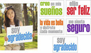 Inspired Minds Confidence Booster Spanish Posters, 11 X 17 Inches, Set Of 5