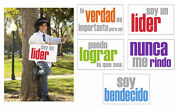 Inspired Minds Encouragement Booster Spanish Posters, 11 X 17 Inches, Set Of 5