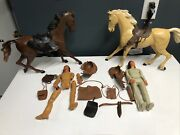 Vintage Chief Cherokee/geronimo Action Figure By Louis Marx And Co - Collectible