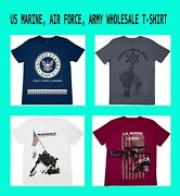 676 Pieces - U.s. Military T Shirts Wholesale - Officially Licensed