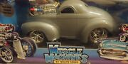Muscle Machines 118 41 Willys Coupe Die-cast Bare Primer 1941