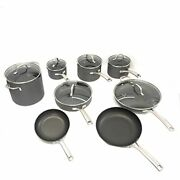 Calphalon Classic Nonstick 14 Piece Pots And Pans Cookware Set With Bpa Free No-