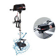 Hangkai 48v Electric Boat Engine 2200w Brushless Outboard Trolling Motor Used Ss