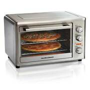 Hamilton Beach Extra Large Countertop Oven With Convection And Rotisserie 31103d