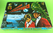 Vintage 60s Extremely Rare Greek Toy Board Game Authentic Lost In Space Remoundo