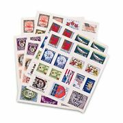 Scrapbooking Countries Around The Globe Novelty Postage Stamp Stickers - 96 Pack