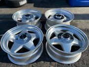 16 Vintage Wheels Rims American Racing Staggered Offset Classic 4 Lug Star Five
