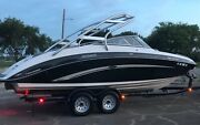 2010 Yamaha 242 Limited S Only 63 Hours Freshwater Stored Inside Gps Cruise