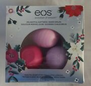 Eos 3 Pack Holiday Lip Balm Sphere Set - Honey Apple Wildberry Passion Fruit