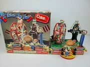 Vintage Enesco Coca Cola A Thirst For Fun Multi Action Deluxe Musical Fairground