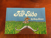 1st The Far Side By Gary Larson Signed /autographed By Gary Larson 1982
