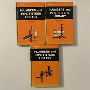 Lot 3 Audel Plumbers And Pipe Fitters Library Books 1974 Plumbing Tools Fixtures