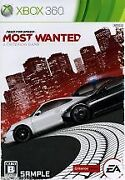 Secondhand Need Pho Speed Most Wanted /xbox360 Afb