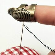 Finger Protector Antique Thimble Ring Needles Craft Diy Household Sewing Tools