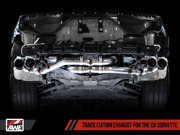 Awe Tuning Track Edition Exhaust 2020-2021 Fits Chevy Corvette Stingray | Silver