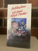 The Rolling Stones Sealed Vhs Let's Spend The Night Together New Concert Rock
