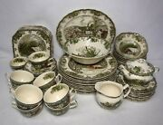 Johnson Brothers Friendly Village Made In England 77-piece Set Service For 12