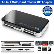 Usb 3.0 5 Gbps All-in-1 Multi Memory Card Reader Micro Sd/tf Xd Ms M2 Cf Adapter