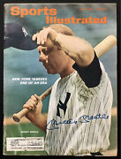 Mickey Mantle Signed Sports Illustrated 6/21/65 Ny Yankees Wsc Hof Autograph Jsa