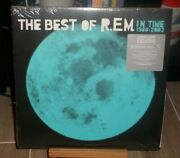 Rem In Time The Best Of Barnes And Noble Blue Lp Losing My Religion Man On Moon