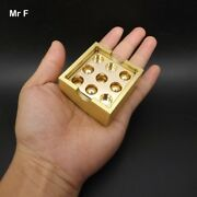 Collection Pure Brass Metal Puzzle Copper Model Thirty-six Stratagems Solution
