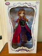 Frozen Princess Anna Doll - Disney Limited Edition - 17 Inches