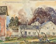 Theodore Van Soelen Landscapetownscape Small Town Usamany Museumsbookstaos