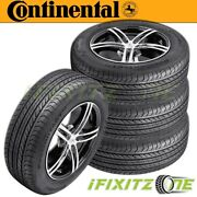 4 Continental Procontact Gx 275/35r19 100h All-season Touring Performance Tires