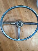 1967 Chevy Chevelle El Camino Steering Wheel With Horn Trim Ring Used Gm