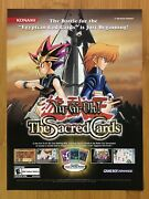 Yu-gi-oh The Sacred Cards Gba 2003 Vintage Print Ad/poster Official Promo Art