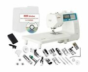 Janome 4300qdc-b Sewing And Quilting Machine With Bonus Quilt Kit