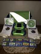 Leapfrog Lot 2 Leapster 2 -dual Leapster Backpack , 2 Cords, 2 Cd's And 10 Games