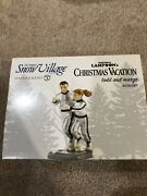 Never Opened National Lampoons Todd And Margo Dept. 56