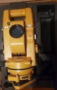 Topcon Gts-2 Theodolite Total Station W/ Case And Additional Batteries