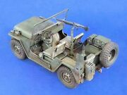 Verlinden 120mm 1/15 M151 Ford Mutt Andfrac14ton 4x4 Us Jeep Early W/engine Detail 985