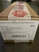 Pokandeacutemon Tcg Sword And Shield Chilling Reign Booster 6-box Case Wave 1