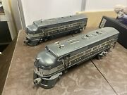 Lionel A-a Units Post Wwii Engines New York Central 2344 F3 Diesel Set 2 Units