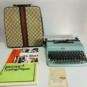 Olivetti Typewriter Lettera-32 Old Original Case As Is Not Tested