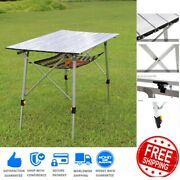 Party Camp Tables Folding Table Portable Plastic Indoor Outdoor Bbq Picnic New