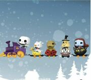 The Nightmare Before Christmas Funko Pop Train Complete Set Of 5 -in Stock