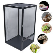 Climbing Pet Reptile Cage Feeding And Breeding Tank For Insect Lizard Amphibian Us