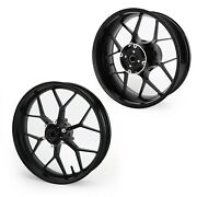 Complete Black Front And Rear Wheel Rim Fit For Honda Cbr1000rr 2008-2016 New