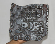 Vintage Wooden Printing Blocks Hand Carved Textile Fabric Stamps 12750