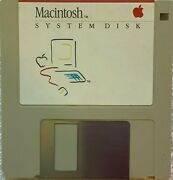 Macintosh System Disk -- 690-5003b -- System 1.1 -- Apple Collector's Guide