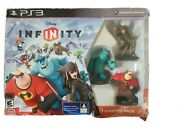 Disney Infinity Sony Playstation 3 Starter Pack Ps3 Video Game Sulley Incredible