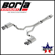 Borla Atak Cat-back Exhaust System Fits 2018-2021 Ford Mustang Gt 5.0l