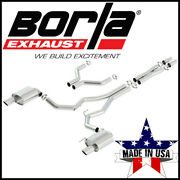 Borla S-type 3 Cat-back Exhaust System Fits 2015-17 Ford Mustang Gt Coupe 5.0l